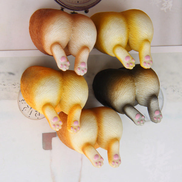 Corgi Booty (with legs) Fridge Magnets