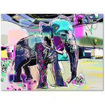 Modern Art Elephant Premium Canvas Gallery Wrap