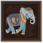 Indian Style Elephant Premium Canvas Gallery Wrap