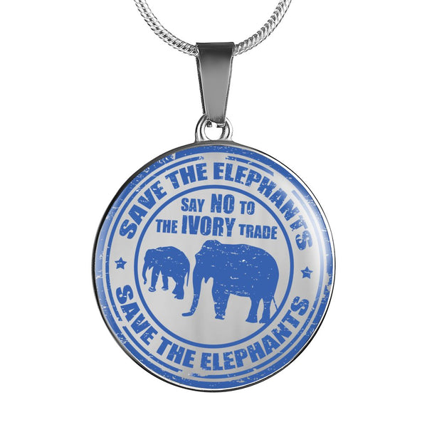 Save the Elephants Luxury Necklace