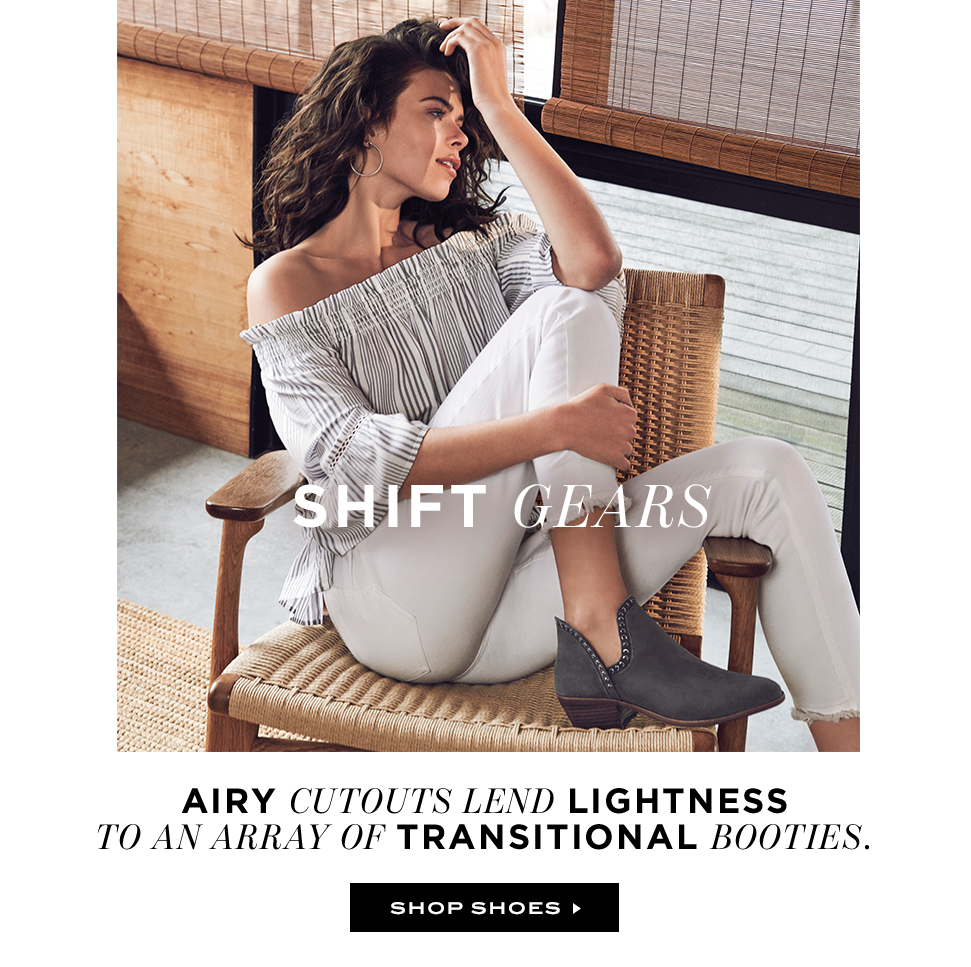 Shift Gears: Airy Transitional Booties
