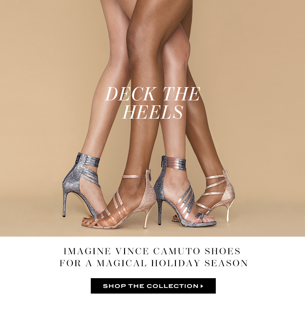 Deck the heels - Chic party shoes for a magical holiday season