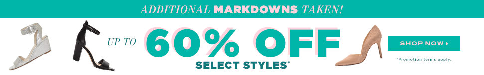 Additional Markdowns Taken!!