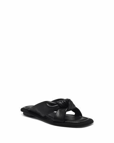 Louise Et Cie ABALEENA BLACK/COW NAPPA/FAILLE WEBBING