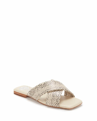 Vince Camuto ALANNIE OFF WHITE/SPOTTED PYTHON