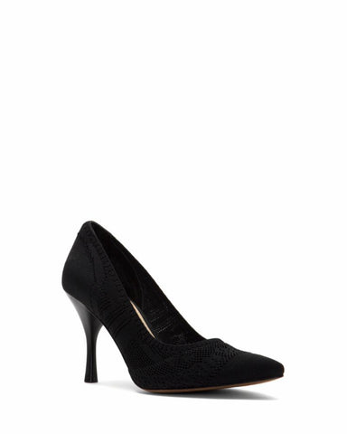 Vince Camuto APARLA2 BLACK/STRETCH KNIT