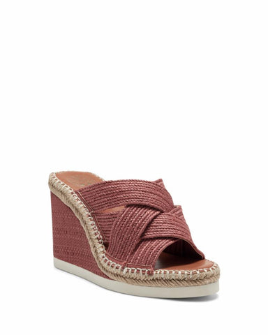 Vince Camuto BAILAH TAUPE NATRL/MOROCCAN CLAY/JUTE
