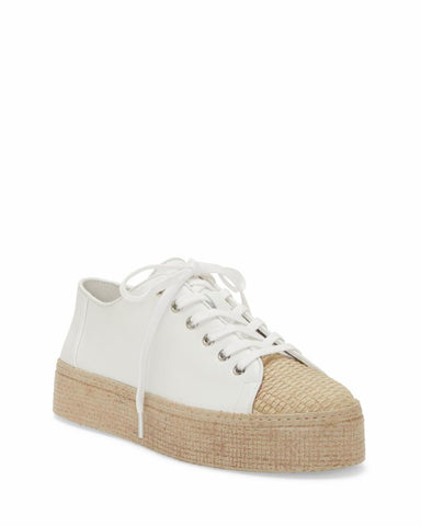Vince Camuto CALITRIE PURE NATURAL/SFT SLKY LEA JUTE