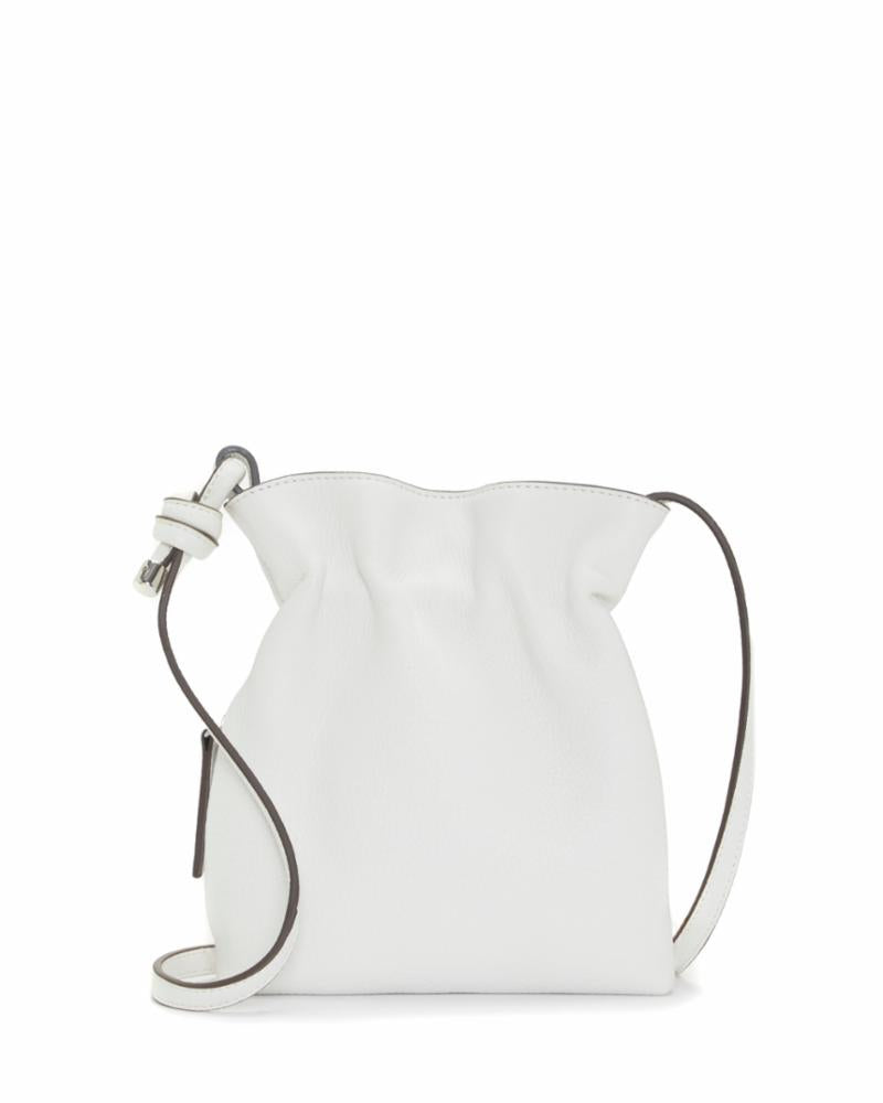 Vince Camuto Handbag CAYRA CROSSBODY BRIGHT WHITE /MADISON NAPPA