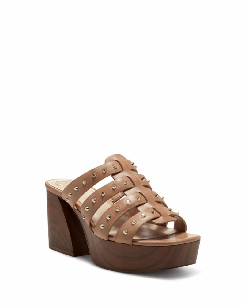 Vince Camuto CHARMIE HIMALAYAN TAN/TWO TONE LUX