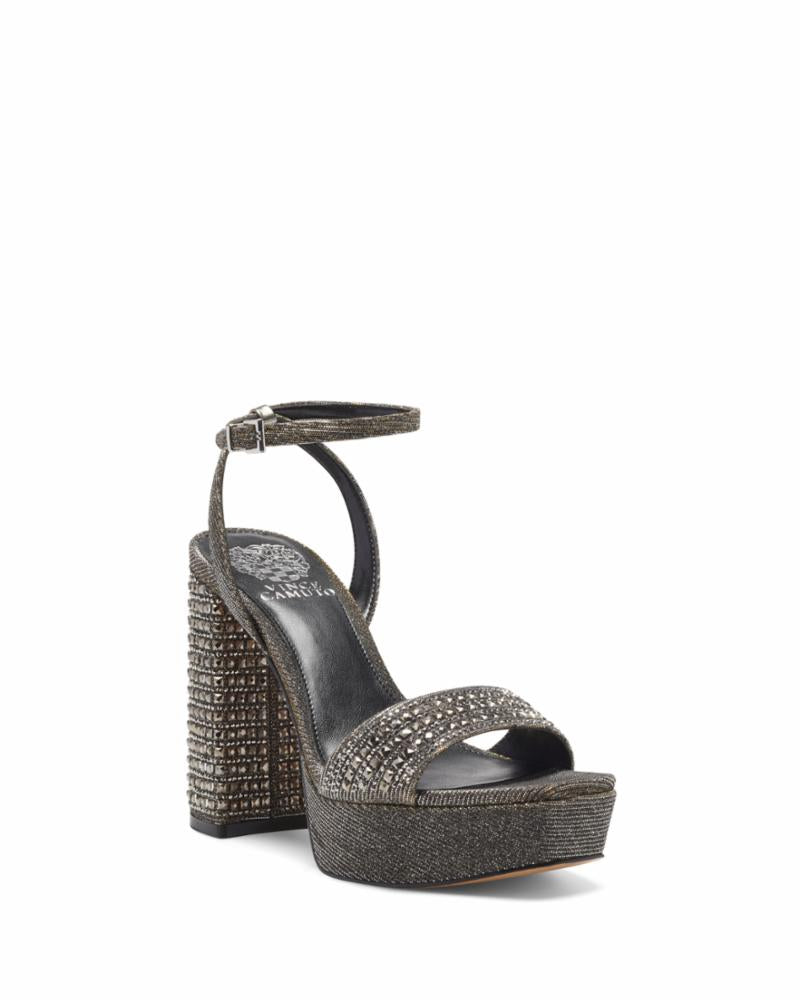 Vince Camuto CHASTIN2 PEWTER/GLITTER FABRIC