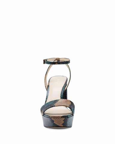 Vince Camuto CHASTIN DEEP TEAL/ARTSY SNAKE
