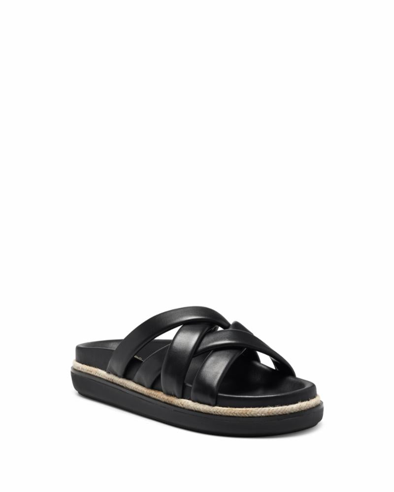Vince Camuto CHAVELLE BLACK/BABY SHEEP