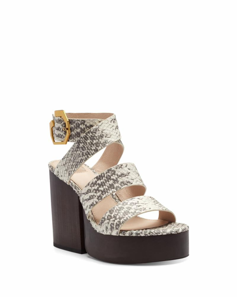 Louise Et Cie DENISSE GREY/WHITE/ARLES SNAKE