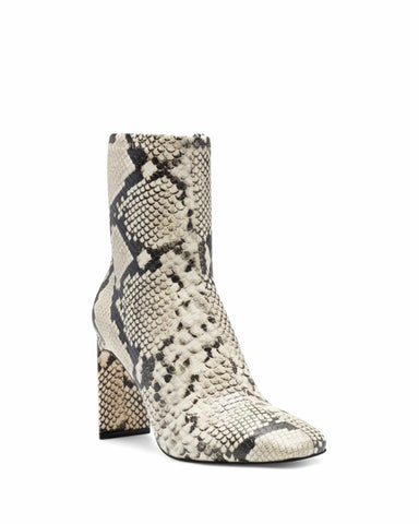 Vince Camuto DEVERNA BLACK WHITE/STRETCH PU SNAKE