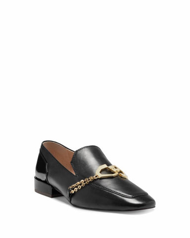 Louise Et Cie EVERLAND BLACK/SIENA SILK/KID PATENT