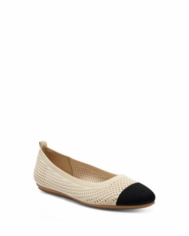 Vince Camuto FEMILS BONE/BLACK/WOVEN WASH KNIT