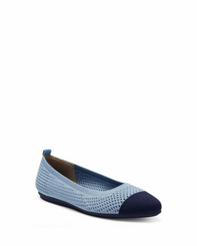 Vince Camuto FEMILS DENIM BLUE/NVY/WOVEN WASH KNIT