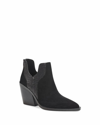 Vince Camuto GANNILLA BLACK/HIGH SUEDE/COW CROCO