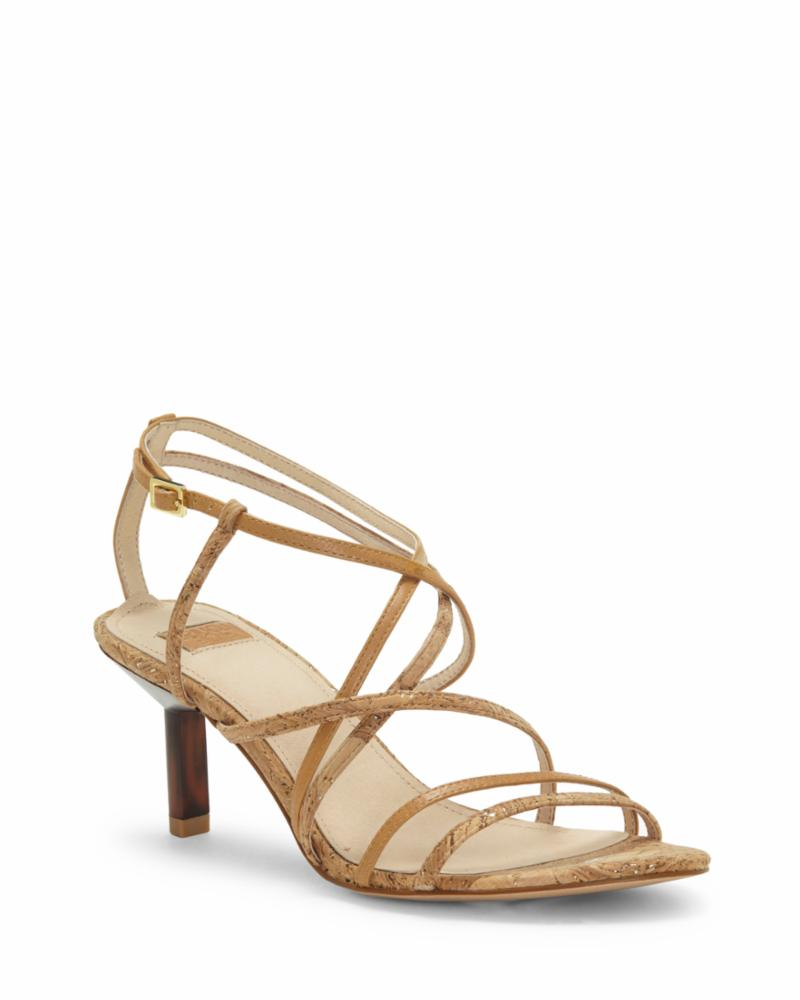 Louise Et Cie HANSEL NATURAL/GOLD/B)TRUE TAN/MET FL