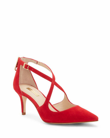 Louise Et Cie JENA RED JASPER/KID SUEDE