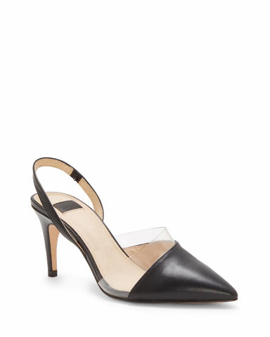 Louise Et Cie KAREENA BLK/CLEAR/SMOOTH CALF/PVC