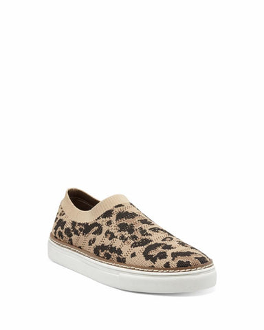 Vince Camuto KEAMALLA LEOPARD/TEXTURED KNIT