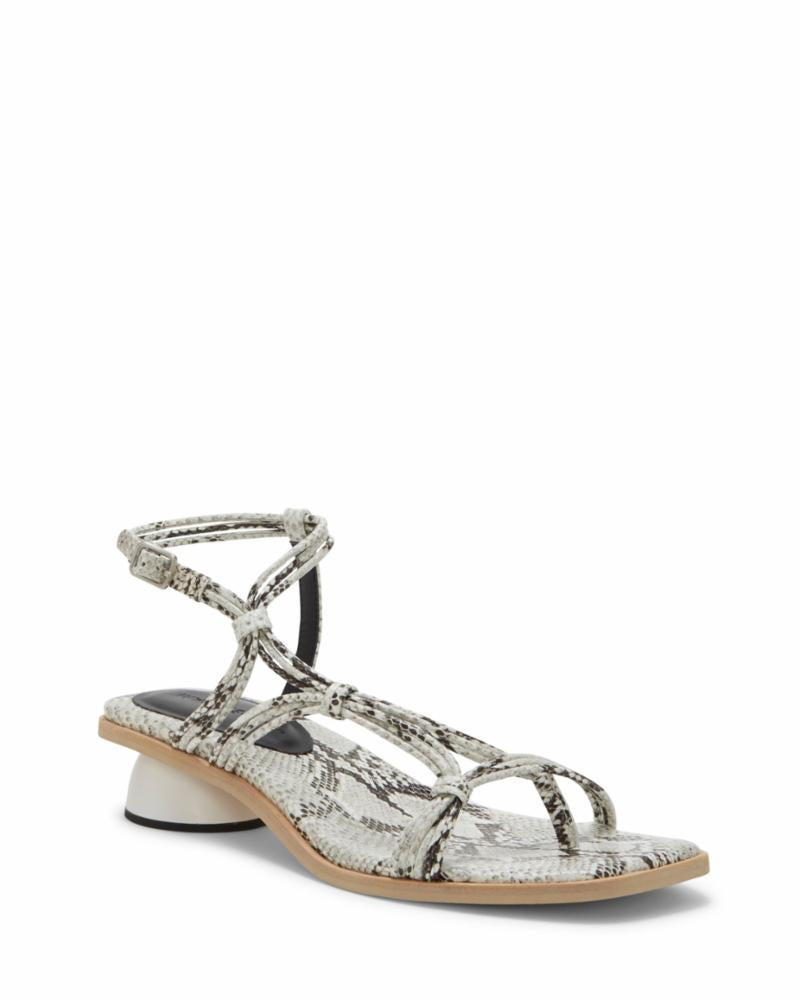 Imagine Vince Camuto LONA PURE WHITE/BLACK/CAPRI SNAKE