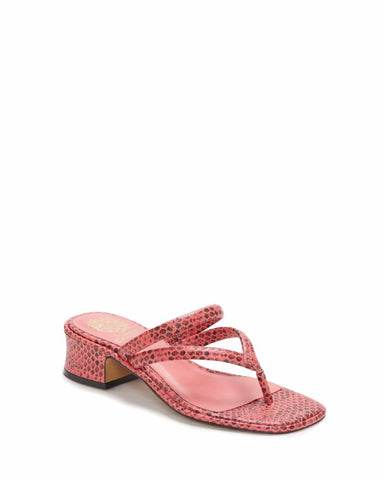 Vince Camuto MAYCI SUNSET PINK/SPOTTED PYTHO