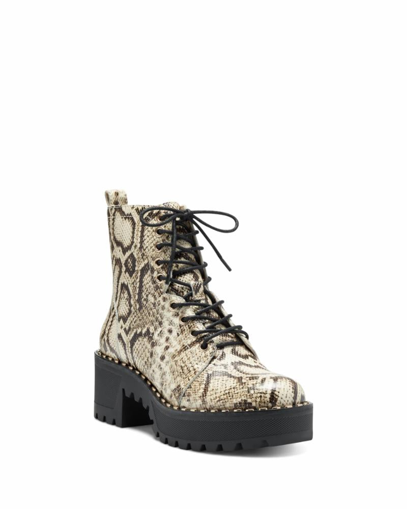 Vince Camuto MECALE NATURAL/NATURAL REPTILE
