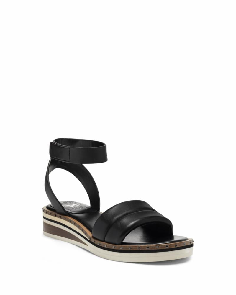 Vince Camuto MELLIENDA BLACK/BABY SHEEP