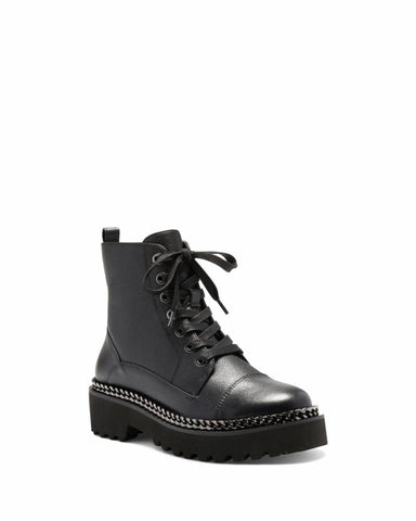 Vince Camuto MINDINTA BLACK/BUTTER CALF