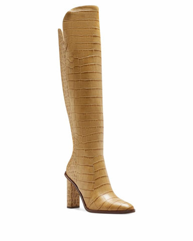 Vince Camuto PALLEY CASHEW/COLOR FADE CROCO