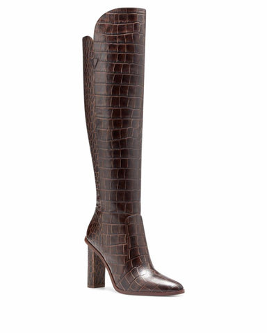 Vince Camuto PALLEY BROWN/COLOR FADE CROCO