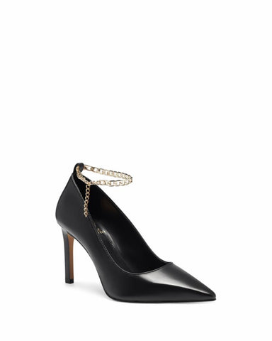Vince Camuto PEDDYA BLACK/BABY SHEEP
