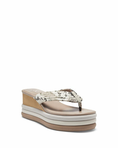 Vince Camuto PERSEENA TAUPE/CREPE/NAMIBIA SNK/S