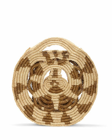 Vince Camuto Handbag RAZO TOPHANDLE NATURAL/WOVEN STRAW