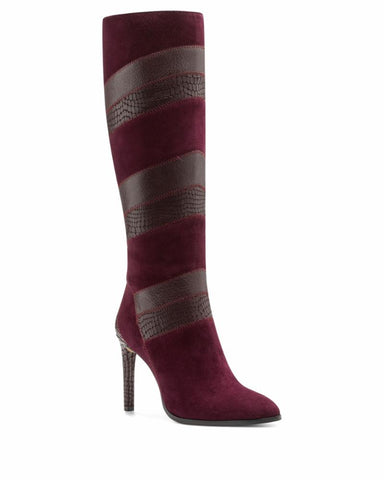 Vince Camuto SARAALAN ELDERBERRY WINE/SUE COW CROCO