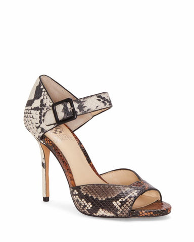 Vince Camuto SESSEN BLK/WHT/TAUPE/SNK RTROSFTNAPPU