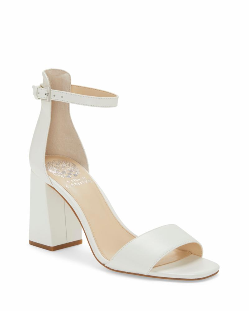 Vince Camuto WINDERLY CRISP WHITE/SMOOTH SOFT CALF