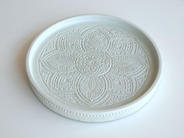 Large Medallion Dish - Pistachio