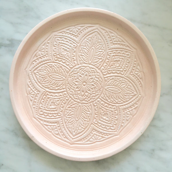 Large Medallion Dish - Blush