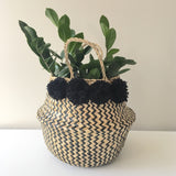 Great for a variety of uses. Seagrass baskets. Kit + Loom. Handmade.