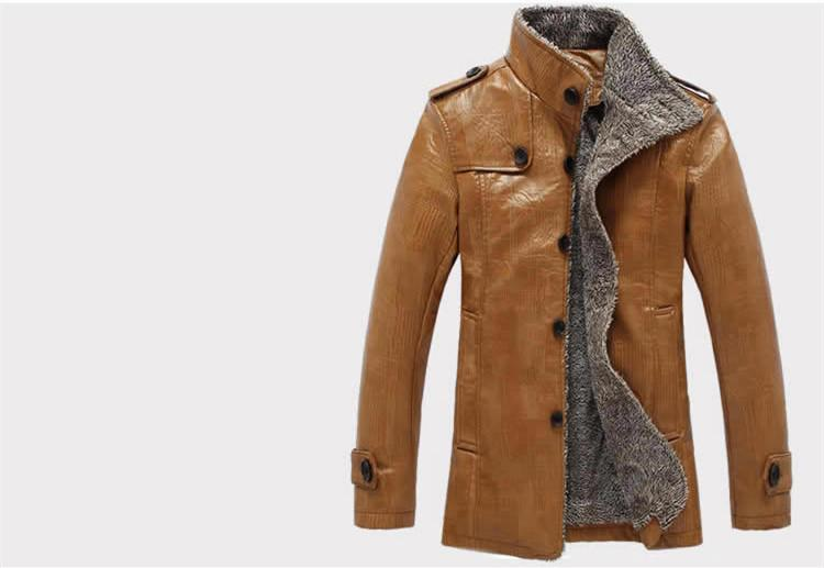Rogue Winter Leather Men's Jacket