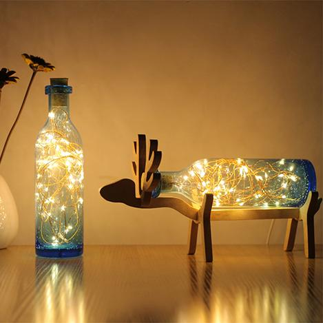 Designs and clever with a clean look deer winebottle table lamp simple designs and clever with a clean look deer winebottle table lamp aloadofball Choice Image