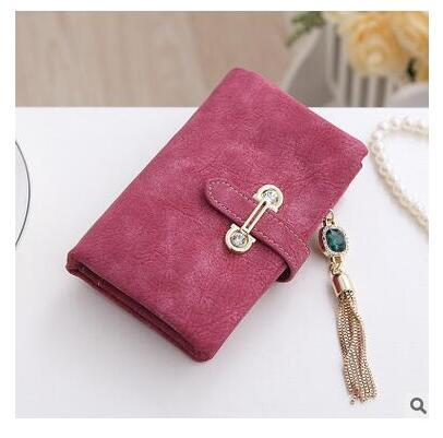 b6e22c57b6 Women s Fashionable Retro Long Clutch Purse