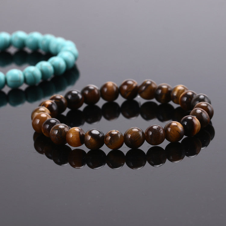 2015 Fashion Jewelry Men bracelet Black Lava Energy Stone Beads Buddha Bracelet for Women Christmas gift