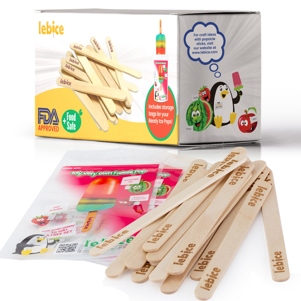 Lebice Popsicle Sticks Set