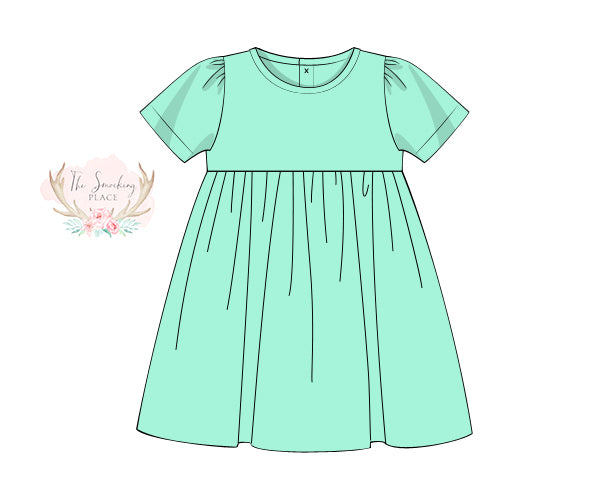 Knit Mint Dress