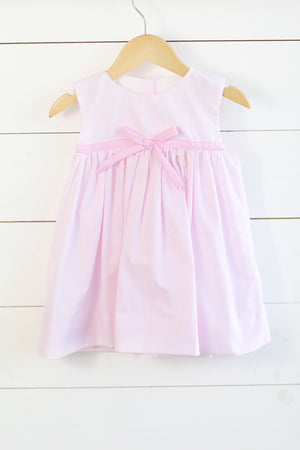 Pink Stripe Bow Sundress